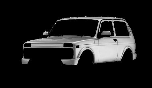 Цвета кузова Lada 4x4 Urban