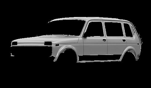 Цвета кузова Lada 4x4 5-дверная