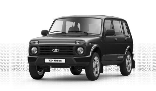 ����� Lada 4x4 Urban 5-�������