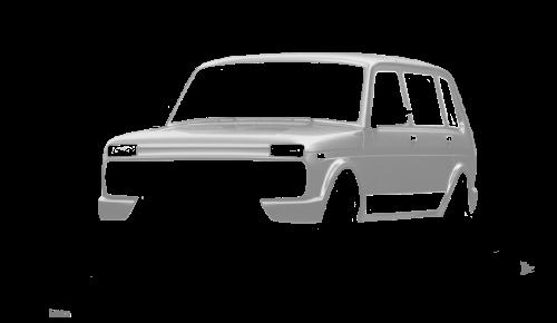 Цвета кузова Lada 4x4 Urban 5-дверная